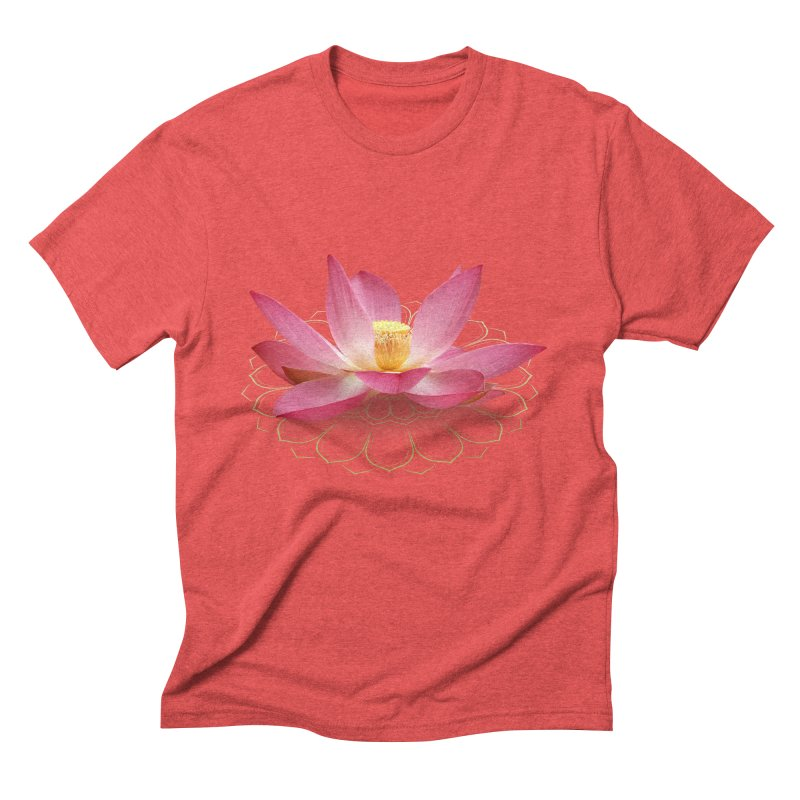 Lotus Men's Triblend T-Shirt by elvisbr's Artist Shop