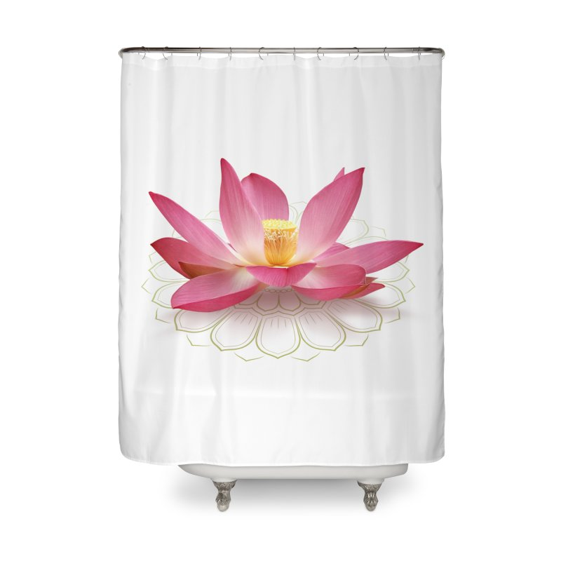 Lotus Home Shower Curtain by elvisbr's Artist Shop