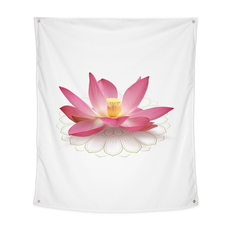 Lotus Home Tapestry by elvisbr's Artist Shop