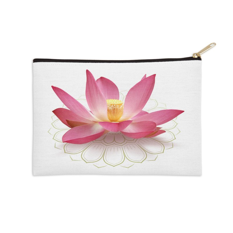 Lotus Accessories Zip Pouch by elvisbr's Artist Shop