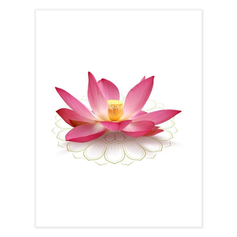 Lotus Home Fine Art Print by elvisbr's Artist Shop
