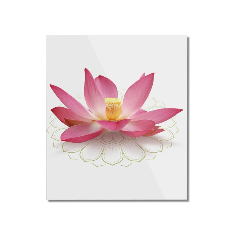 Lotus Home Mounted Acrylic Print by elvisbr's Artist Shop