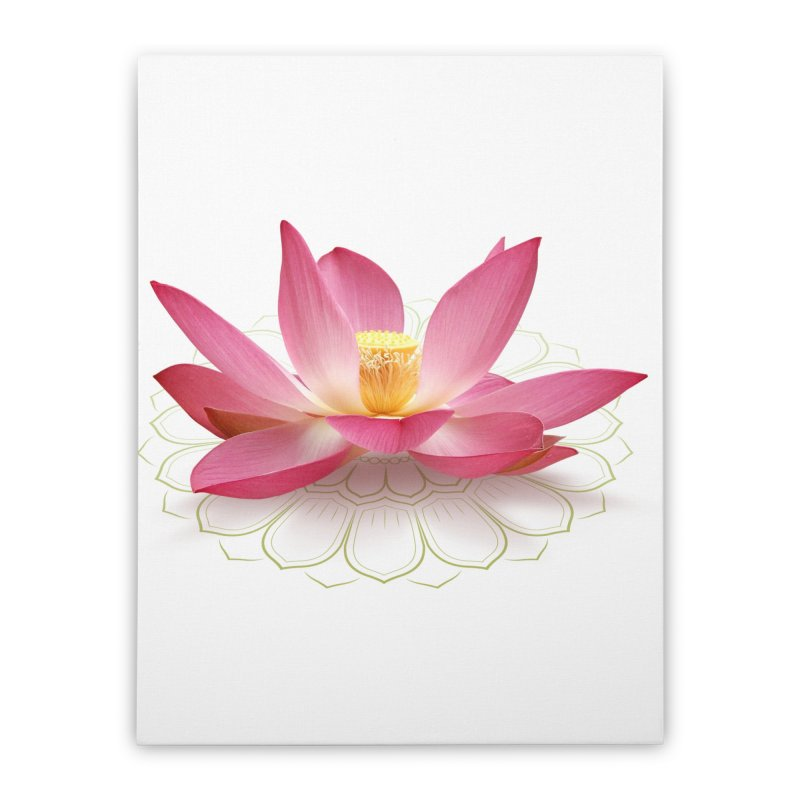 Lotus Home Stretched Canvas by elvisbr's Artist Shop
