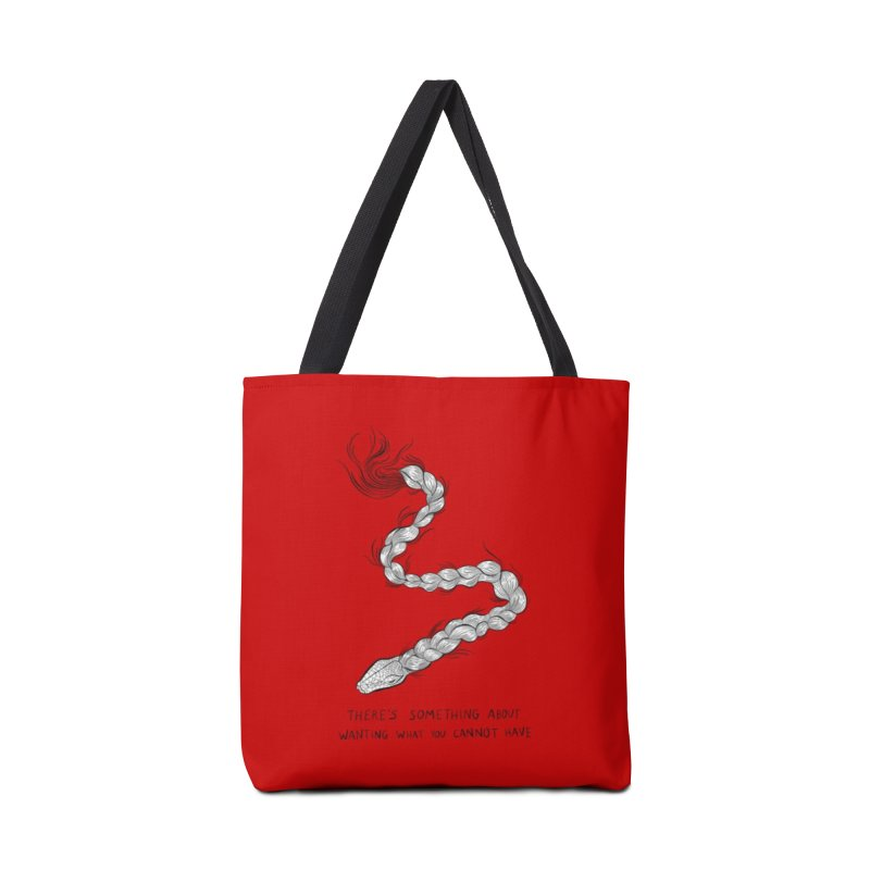 There's Something Accessories Tote Bag Bag by EM16'S STORE
