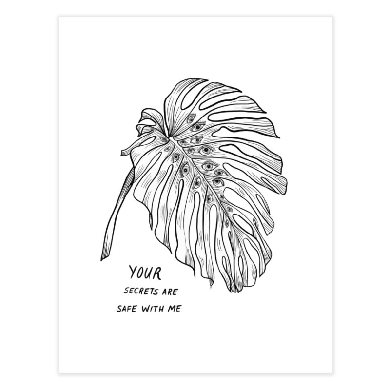 Your Secret Home Fine Art Print by EM16'S STORE