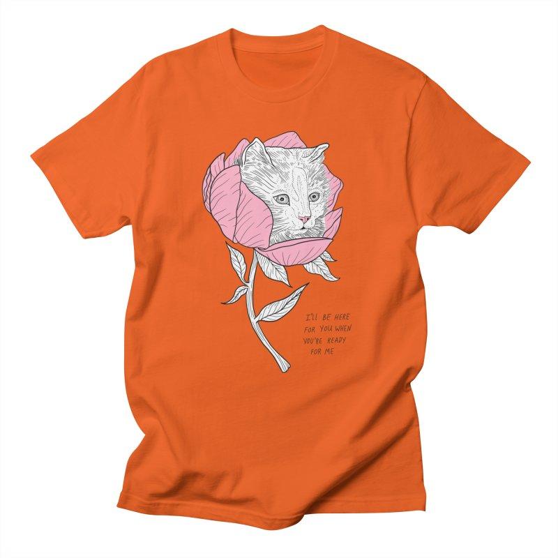 I'll Be Here Men's Regular T-Shirt by EM16'S STORE