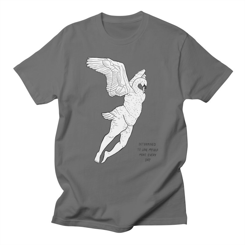 Love Yourself More Men's Regular T-Shirt by EM16'S STORE