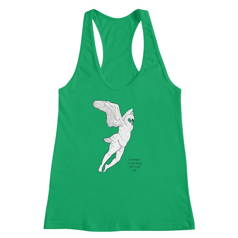 Love Yourself More Women's Racerback Tank by EM16'S STORE