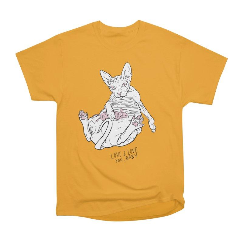 Love to Love Women's Heavyweight Unisex T-Shirt by EM16'S STORE