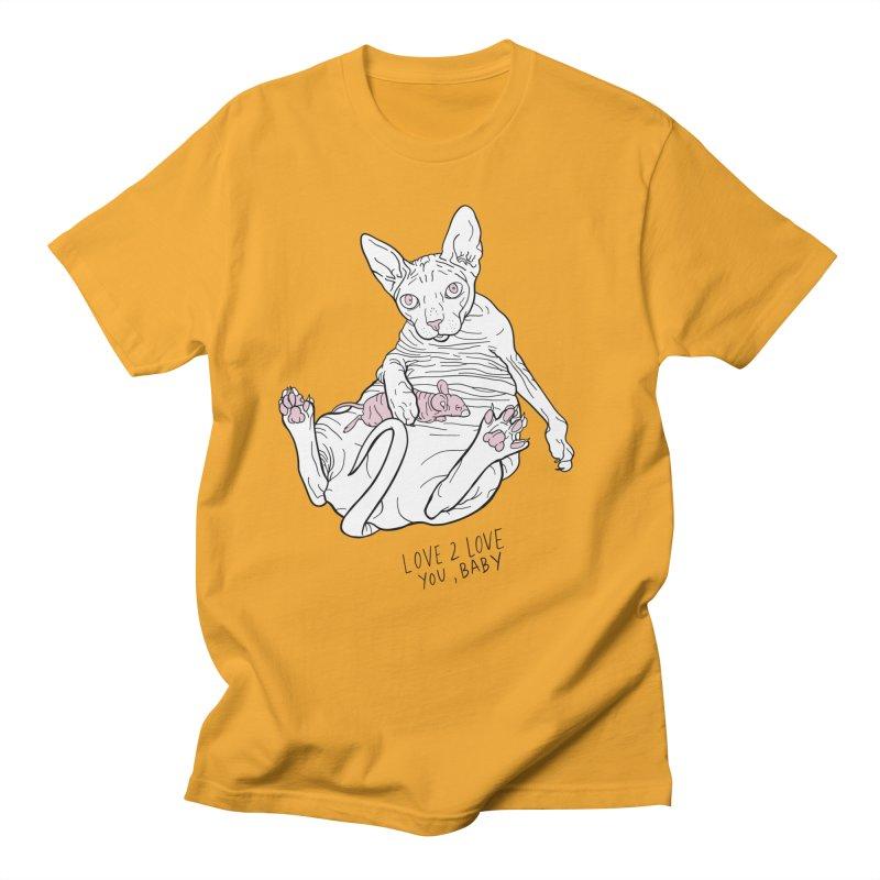 Love to Love Men's Regular T-Shirt by EM16'S STORE