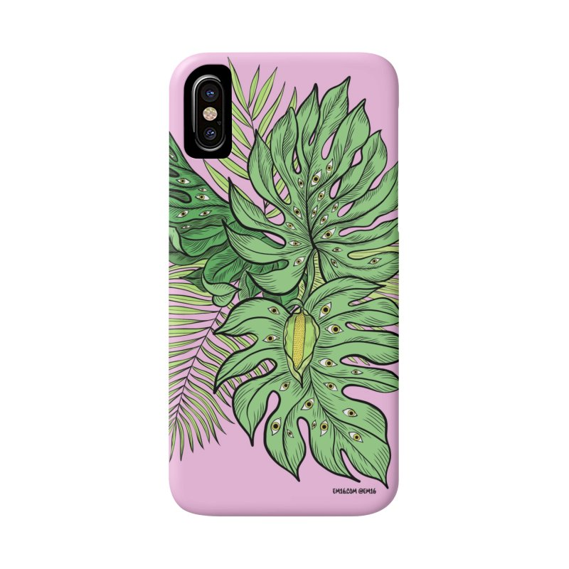 Plant Friends Accessories Phone Case by EM16'S STORE