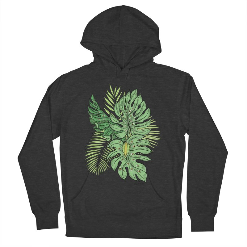 Plant Friends Men's French Terry Pullover Hoody by EM16'S STORE