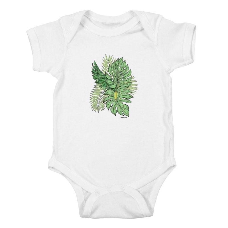 Plant Friends Kids Baby Bodysuit by EM16'S STORE