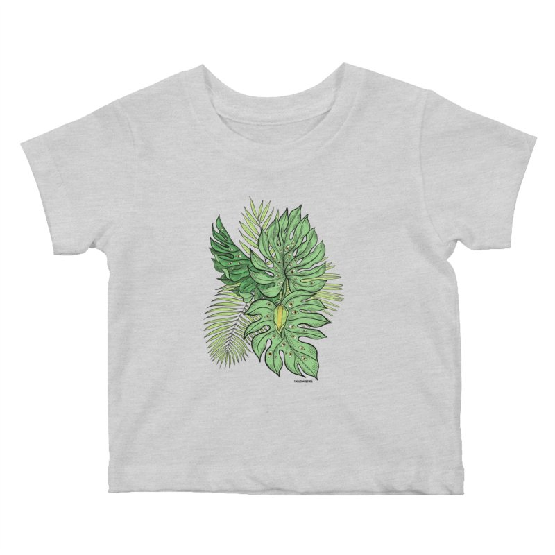 Plant Friends Kids Baby T-Shirt by EM16'S STORE