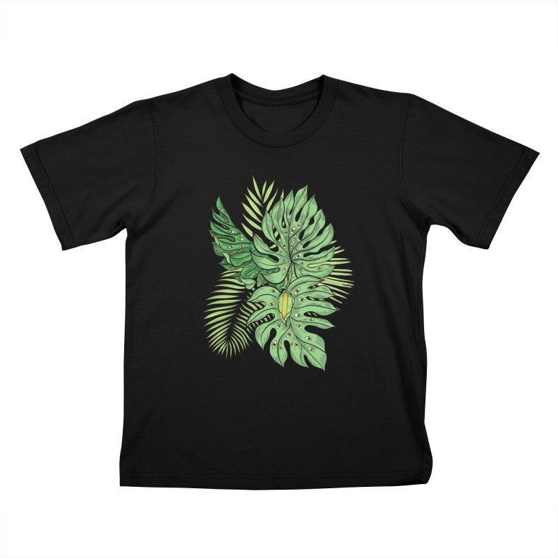 Plant Friends Kids T-Shirt by EM16'S STORE