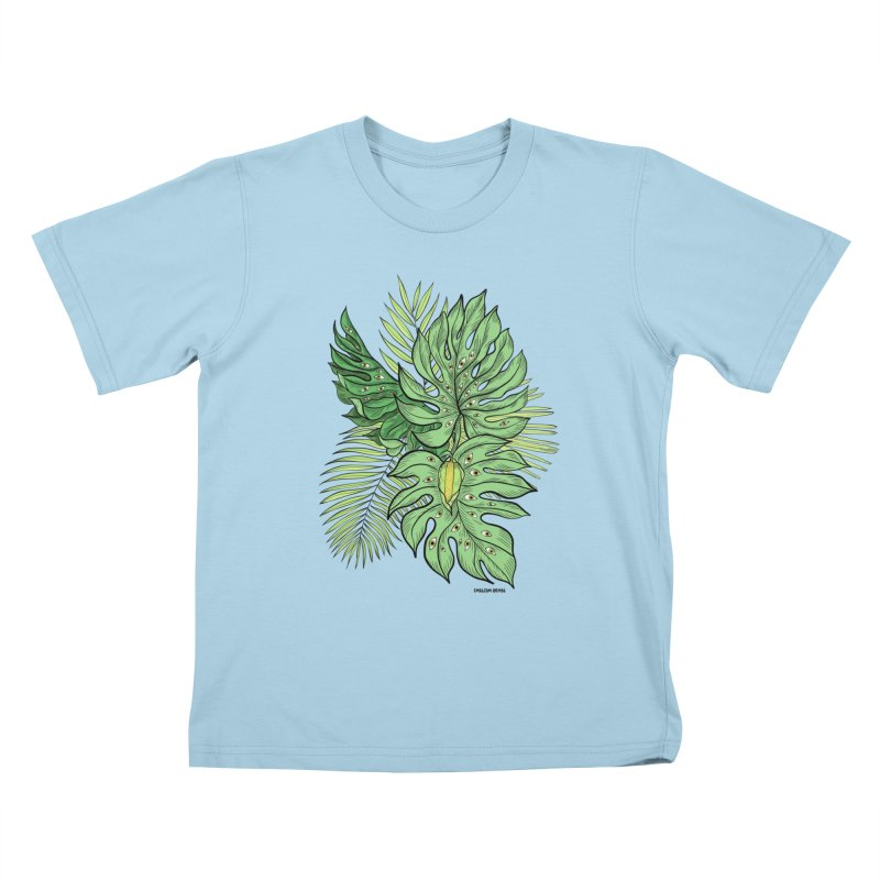 Plant Friends Kids T-Shirt by EM16'S STORE