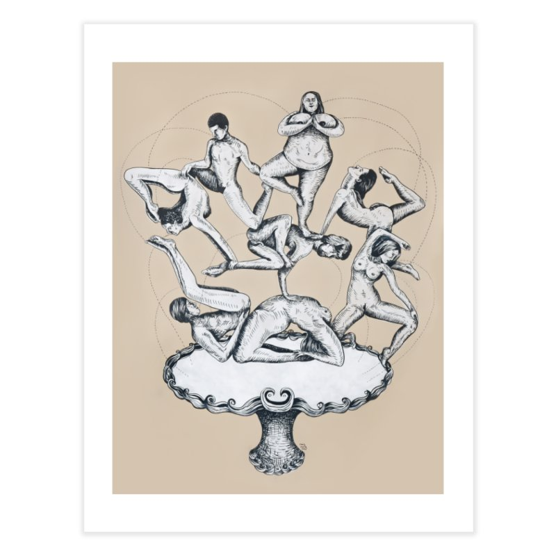 Fountain of My Youth Home Fine Art Print by EM16'S STORE