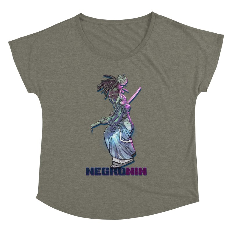 EmancipationArt's NEGROnin Women's Dolman Scoop Neck by EmancipationArt's Threadless Shop