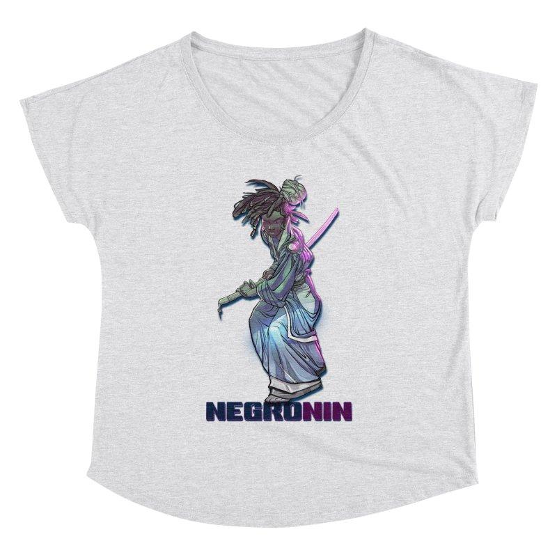 EmancipationArt's NEGROnin Women's Dolman Scoop Neck by EmancipationArt's Threadless Shop