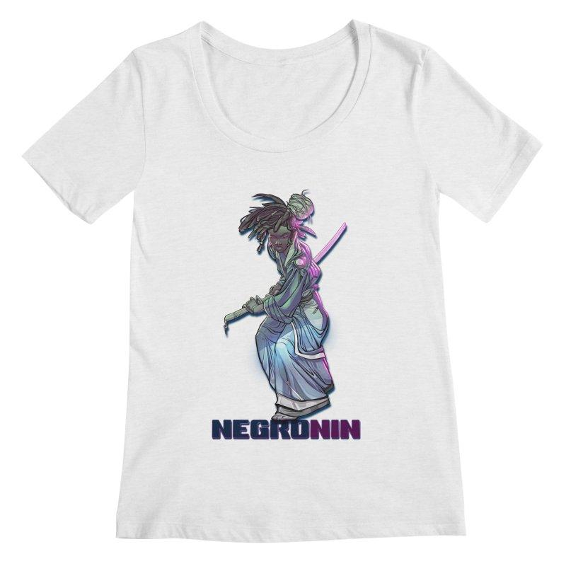 EmancipationArt's NEGROnin Women's Regular Scoop Neck by EmancipationArt's Threadless Shop