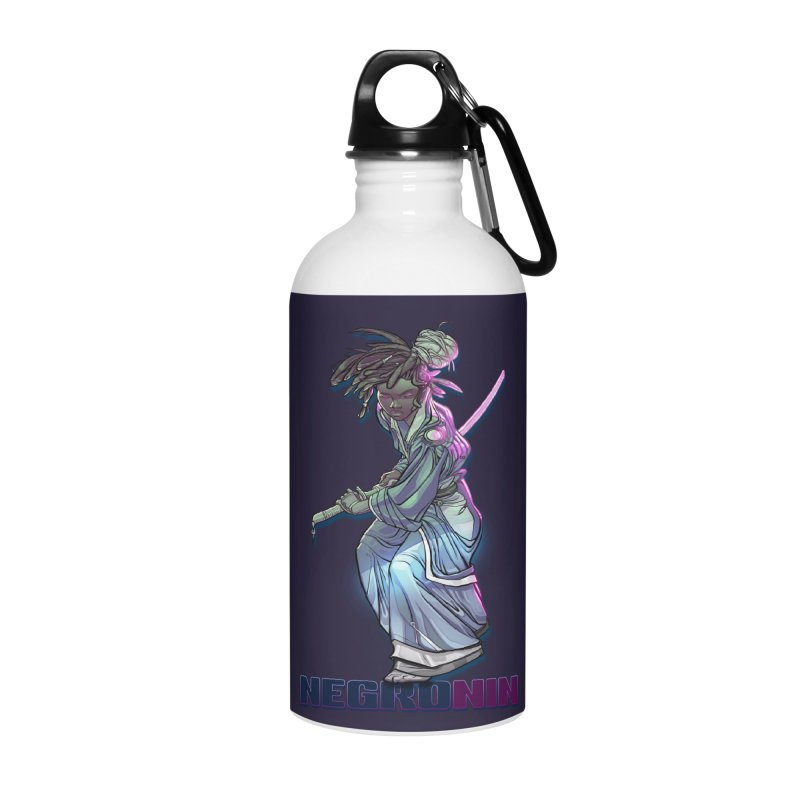 EmancipationArt's NEGROnin Accessories Water Bottle by EmancipationArt's Threadless Shop