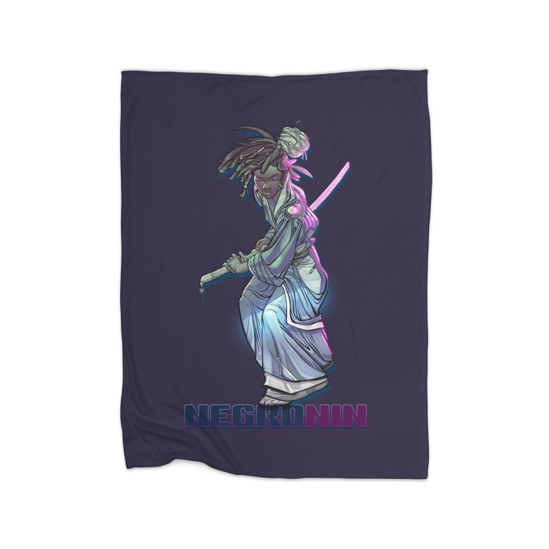 EmancipationArt's NEGROnin Home Blanket by EmancipationArt's Threadless Shop