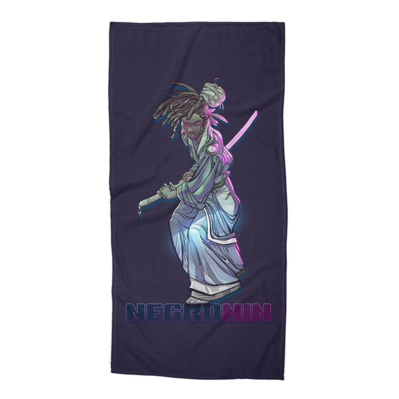 EmancipationArt's NEGROnin Accessories Beach Towel by EmancipationArt's Threadless Shop