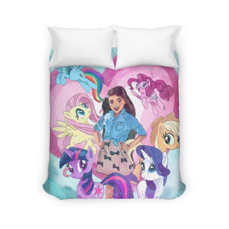 My Little Pony Home Duvet by Eii's Artist Shop