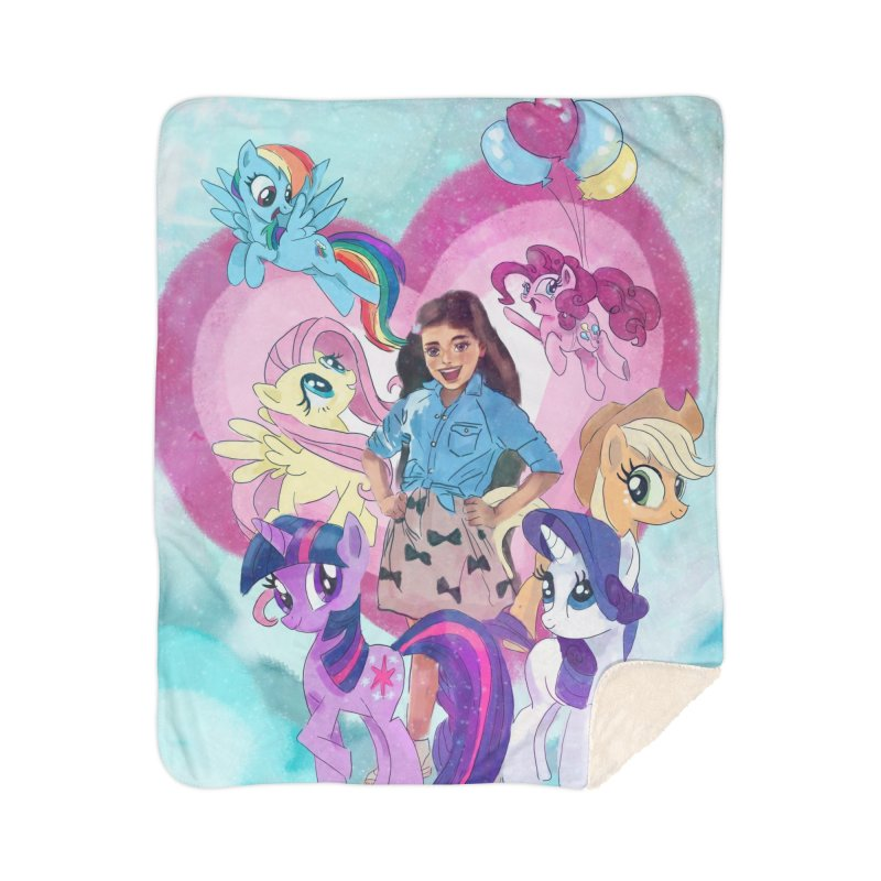 My Little Pony Home Blanket by Eii's Artist Shop