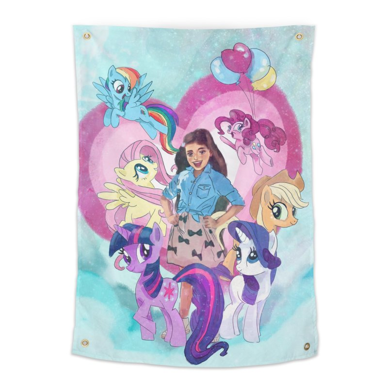 My Little Pony Home Tapestry by Eii's Artist Shop
