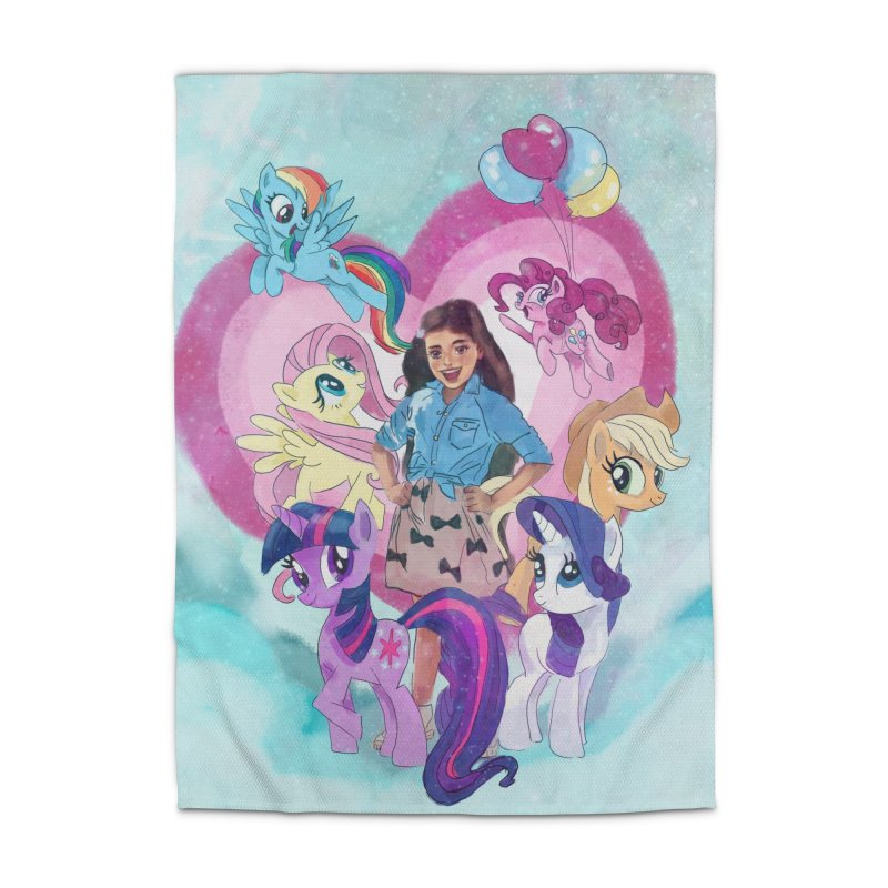 My Little Pony Home Rug by Eii's Artist Shop