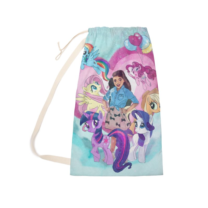 My Little Pony Accessories Laundry Bag Bag by Eii's Artist Shop