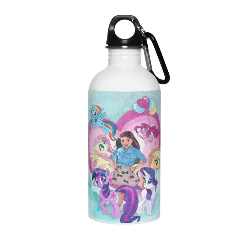 My Little Pony Accessories Water Bottle by Eii's Artist Shop