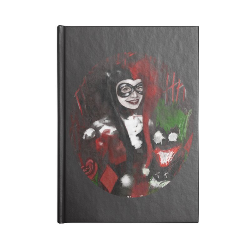 Harly quinn Accessories Lined Journal Notebook by Eii's Artist Shop