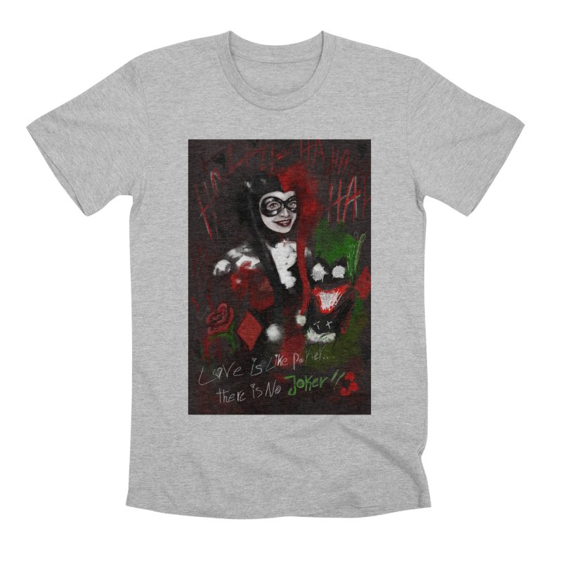 Harly quinn Men's Premium T-Shirt by Eii's Artist Shop