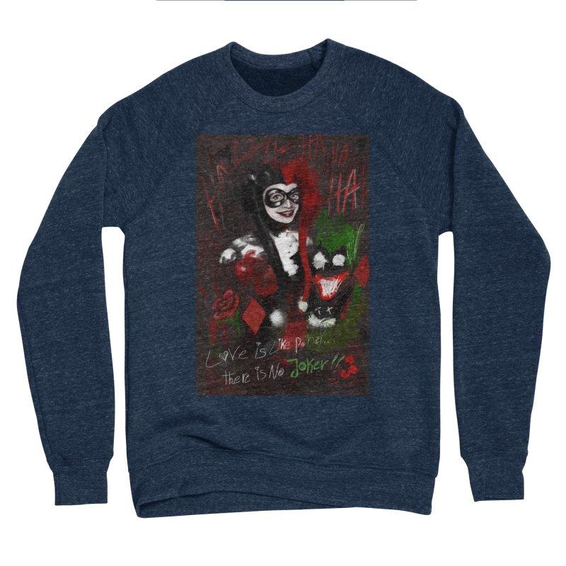Harly quinn Women's Sponge Fleece Sweatshirt by Eii's Artist Shop