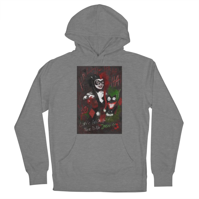 Harly quinn Women's Pullover Hoody by Eii's Artist Shop
