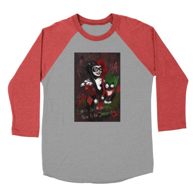 Harly quinn Women's Baseball Triblend Longsleeve T-Shirt by Eii's Artist Shop