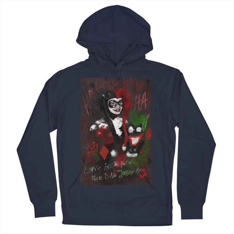 Harly quinn Women's French Terry Pullover Hoody by Eii's Artist Shop