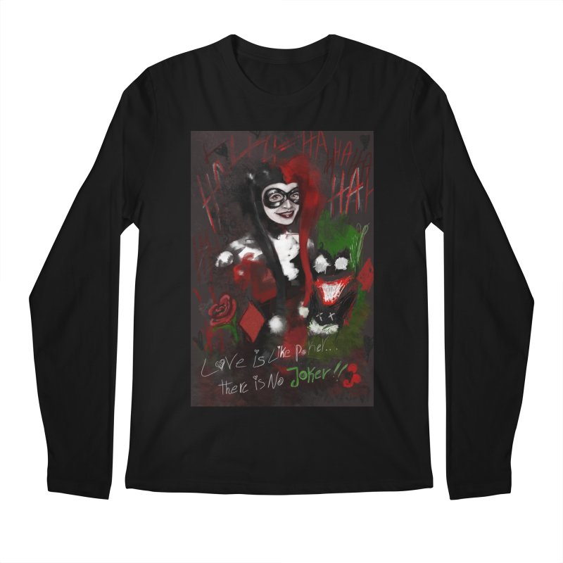 Harly quinn Men's Regular Longsleeve T-Shirt by Eii's Artist Shop