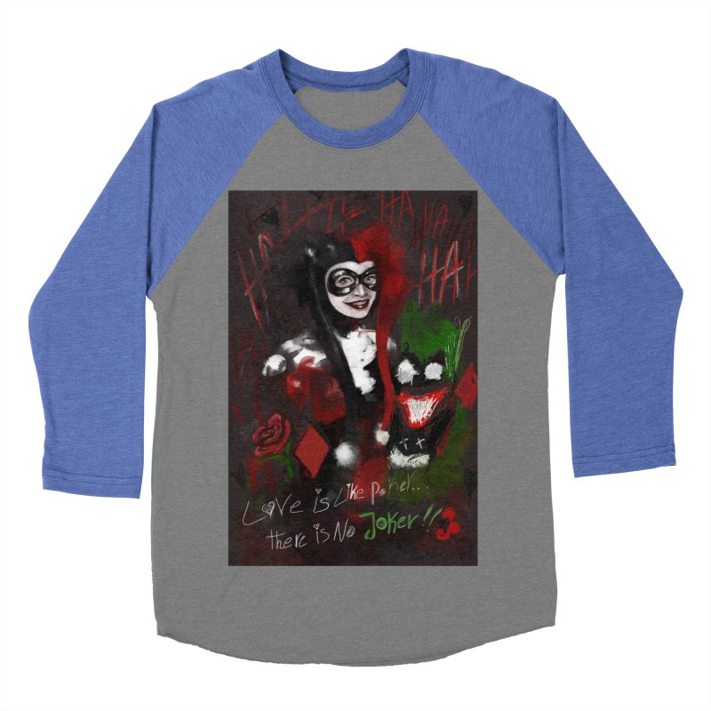 Harly quinn Men's Baseball Triblend Longsleeve T-Shirt by Eii's Artist Shop
