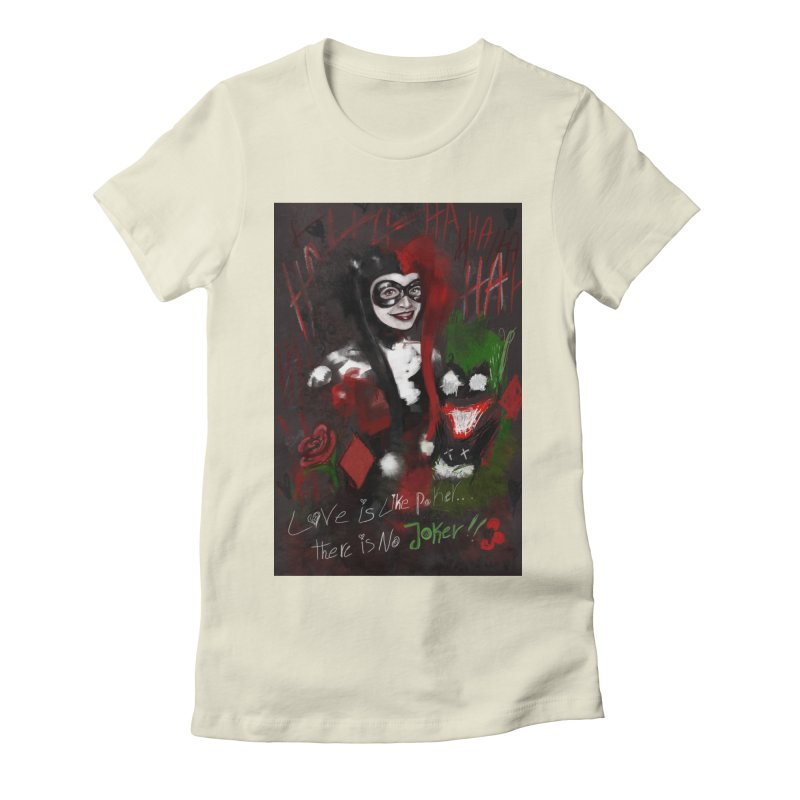 Harly quinn Women's Fitted T-Shirt by Eii's Artist Shop