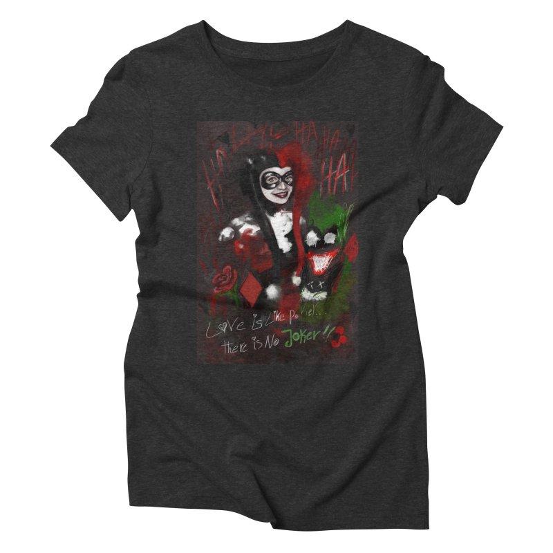Harly quinn Women's Triblend T-Shirt by Eii's Artist Shop