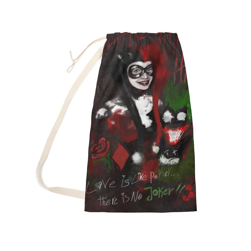 Harly quinn Accessories Bag by Eii's Artist Shop