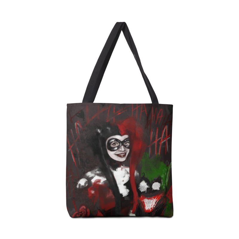 Harly quinn Accessories Tote Bag Bag by Eii's Artist Shop