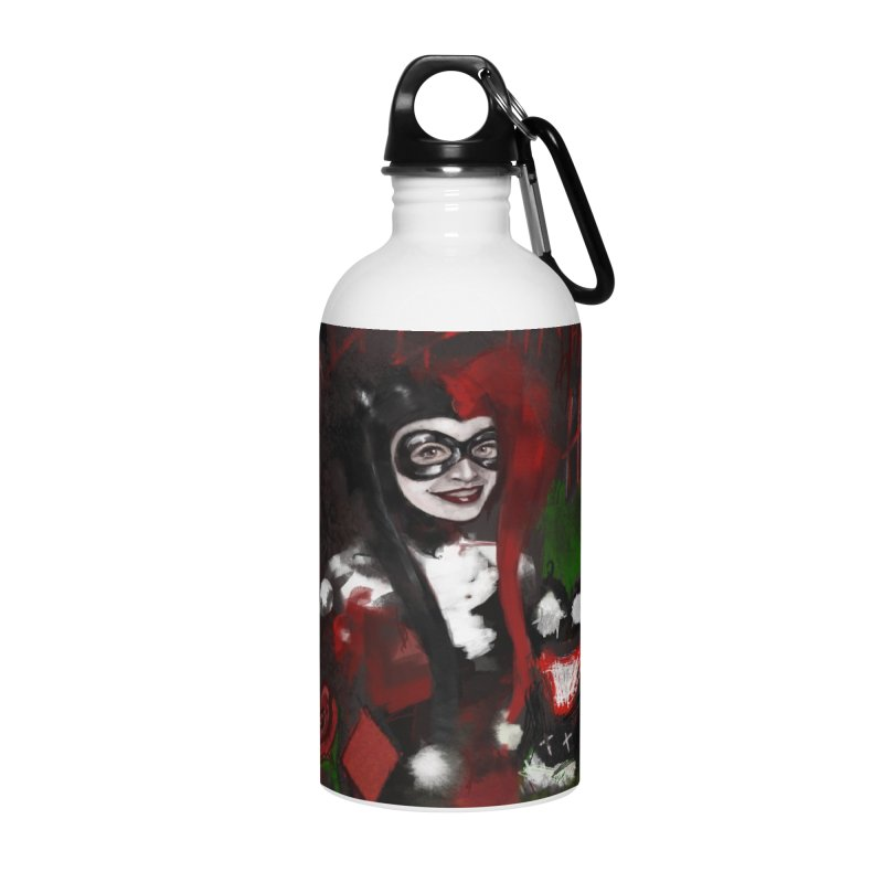 Harly quinn Accessories Water Bottle by Eii's Artist Shop