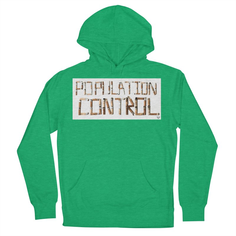 """""""Population Control"""" Men's French Terry Pullover Hoody by The Embien Empire"""
