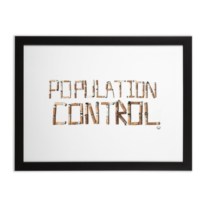 """Population Control"" Home Framed Fine Art Print by The Embien Empire"