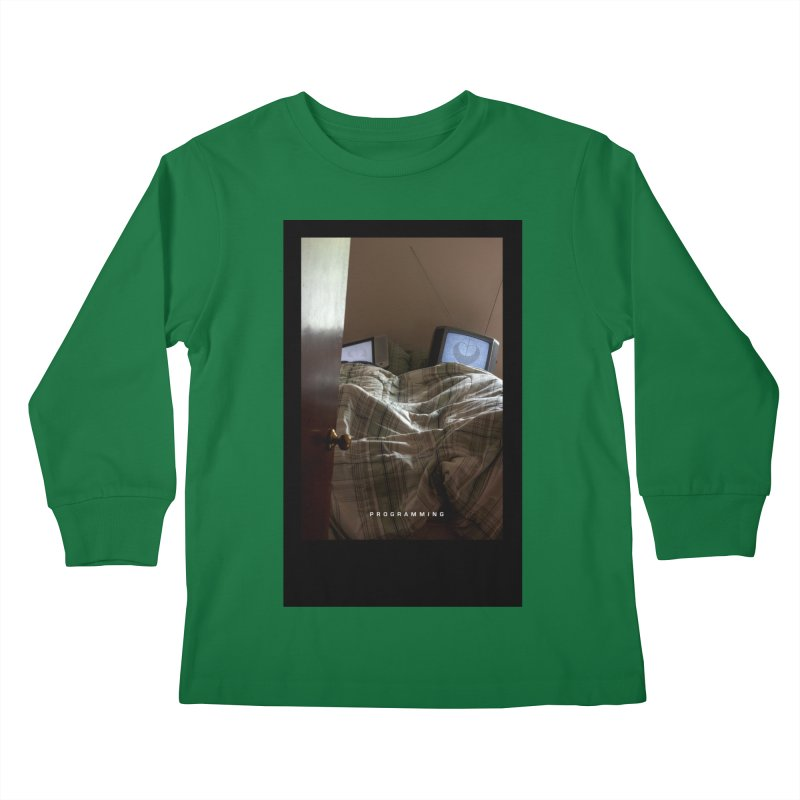 """Programming""  Kids Longsleeve T-Shirt by The Embien Empire"