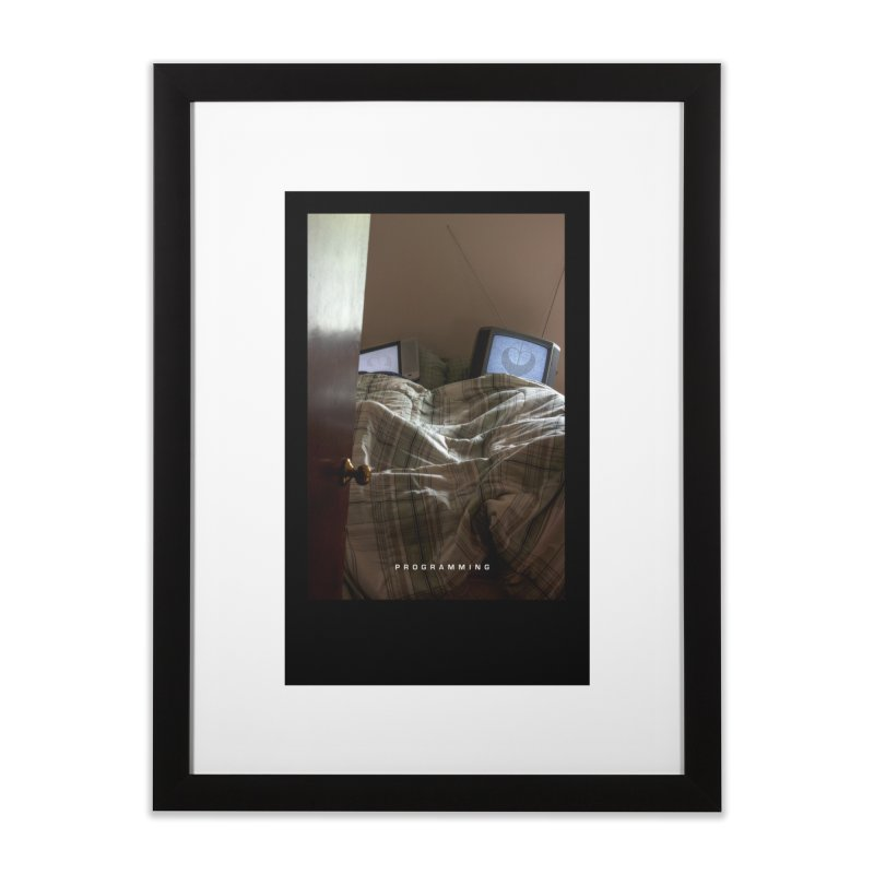 """Programming""  Home Framed Fine Art Print by The Embien Empire"